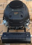 MEGHAJTÓ MOTOR ZONGSHEN XP680 680cc 22 TWIN FÜGGŐLEGES TENGELY